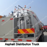 Camion Heated automatique intelligent de distribution d'asphalte de Sinotruk HOWO 11-20ton 6X4