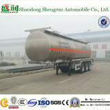 ASMEの高水準35cbmのアルミ合金の燃料かDiselタンクトレーラー