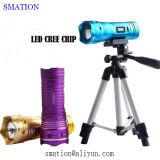Лучший мощный перезаряжаемые UV Brightest Tactical CREE светодиодный фонарик фонарик