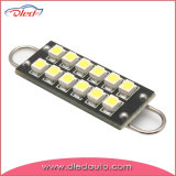 36mm Loop 12 * 5050SMD LED Car Light Iluminación Super PCB