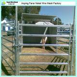馬のための電流を通された管の家畜の金属の畜舎の塀のパネル