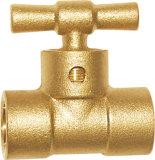 Válvula de bronze do radiador de Fordge