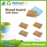 Éliminer-Type vert allant panneau de pain en bambou de fibre avec la base