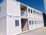Prefabricated portátil Container House para Temporary Living Buildings