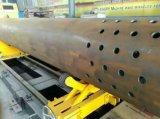 Вырезывания плазмы трубы нержавеющей стали CNC оси сосудов под давлением 5 машина круглого скашивая