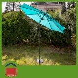 أحمر حديقة مظلة مع مسيكة