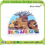 Presentes do ímã do refrigerador do PVC dos produtos da lembrança dos turistas de África do Sul (RC-SA)