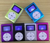 MP3 Music Player com função de cartão Clip e TF HiFi MP3 Player
