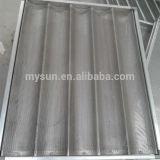 Cuves carrées de traitement au four de pain d'alliage d'aluminium de Mysun (MS-TS)