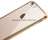 iPhone 6 Cell Phone Caseのための移動式Phone Accessories Electroplating TPU Case