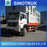 판매를 위한 HOWO 4X2 12cbm 쓰레기 트럭