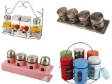 Canister di vetro per Kitchen Storage Purpose