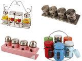 Vasi di memoria della scatola metallica dello zucchero del caffè del tè