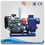 Bomba de agua móvil del motor diesel del acoplado (35HP45HP50HP) para las aguas residuales