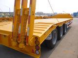 Cimc Vrachtwagen van de Aanhangwagen van de Lader voor graafmachines van de Lading van de Aanhangwagen van het Bed van het Merk de Lage