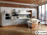 Armadio da cucina di legno dell'hotel dell'Italia dell'isola domestica moderna della mobilia