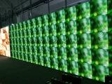 Visualización de LED de interior delgada estupenda del alquiler P3.91