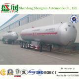 de 3-Axle 58.8cbm LPG do gás do transporte do tanque reboque do caminhão Semi