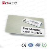 Scheda bianca del PVC di lucentezza di MIFARE DESFire EV2 2k