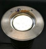 Indicatore luminoso sotterraneo esterno registrabile dell'indicatore luminoso 9W LED in IP67