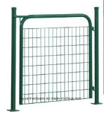 ゲートを囲う装飾的なゲートの振動庭