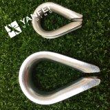 Dedal europeo DIN6899A de la cuerda de alambre