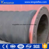 Boyau en caoutchouc de dragage de débit de sable de boue de Kingdaflex