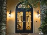 装飾的な内部の鉄の出入口デザイン暗闇の青銅