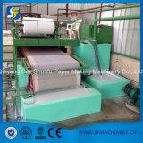 Papel usado que recicla la cadena de producción de alta velocidad de máquina del papel higiénico del tejido 5-6ton/Day de 1880m m