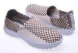 Nouveau modèle de la mode 2012 augmentant les chaussures tissées par chaussures de sport de chaussures