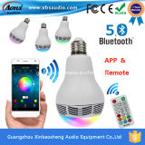 LED Light Bulb를 가진 Android Ios Bluetooth Speaker를 위한 APP Controlled