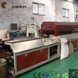 WPC Decking, der Maschine Strangpresßling herstellt maschinell zu bearbeiten/Produktions-Maschine