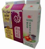 Suco/leite/caixa da parte superior frontão do creme/vinho/água/caixa 907g