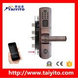 Os chineses manufaturam o Doorlock biométrico impermeável da impressão digital do baixo preço