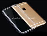 Caso 0.3mm transparente Ultrathin de TPU para a tampa do telefone 6s móvel do iPhone 6 do iPhone 5/5s/5se