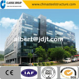 Construção de aço Prefab do prédio de escritórios da instalação rápida bem parecida