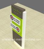 옥외 LED 가벼운 주차 알루미늄 철탑 표시