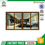최신 인기 상품 선전용 알루미늄 유리제 문 디자인 (WJ-SD009)