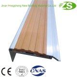 Escalera Protector de aluminio flexible C de escalera en forma de nosing Paso