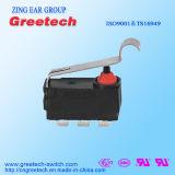 Zingear a scellé le mini commutateur micro imperméable à l'eau noir avec RoHS et UL
