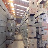 Colonna d'acciaio galvanizzata del TUFFO caldo saldata