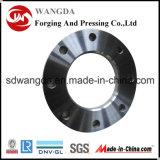 Bride Zhangqiu d'acier du carbone de la norme ANSI DIN JIS