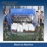 Macchina del ghiaccio in pani di refrigerazione 10tpd 25kg della salamoia di buona qualità
