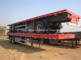 平面Container Semi Trailer 40FT/Skelete Container Semi Trailer 3 Axles
