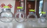 De Kruik van het Voedsel van het glas voor Opslag, de Kruiken van het Glas van het Domein