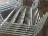 Galvanisierte Hochleistungsstahlpfosten-Ladeplatte