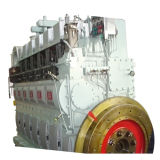 Mann 2X5500kw Hfo Kraftwerk-/Generator-Set