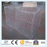 Engranzamento galvanizado a quente Gabion de /Hexagonal da caixa de Gabion do fio de aço de baixo carbono