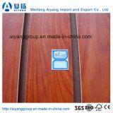 Placa de MDF com laminação de melamina de 18mm para painel de parede MDF