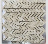 Crema Marfil mini Herringbone Marmormosaik-Fliese